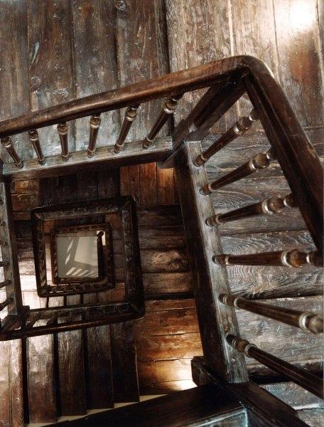 Hotel La Puebla - Wooden Staircase