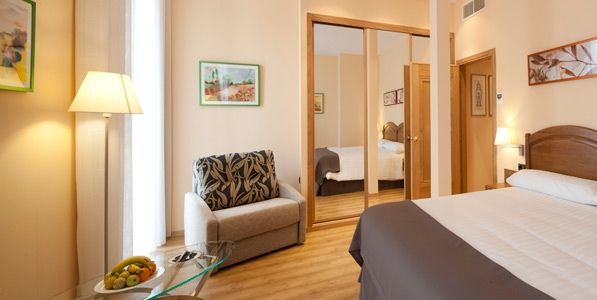 Hotel Astur Plaza - Room